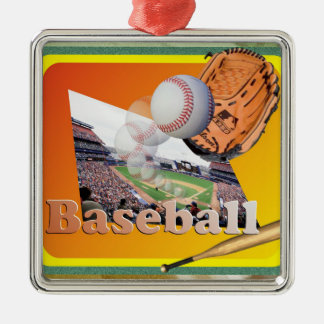 BASEBALL HIT OUT OF STADIUM ORNAMENT