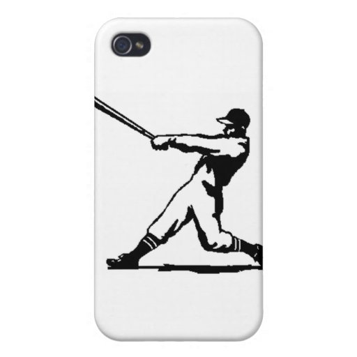 Baseball hitting iPhone 4/4S cover