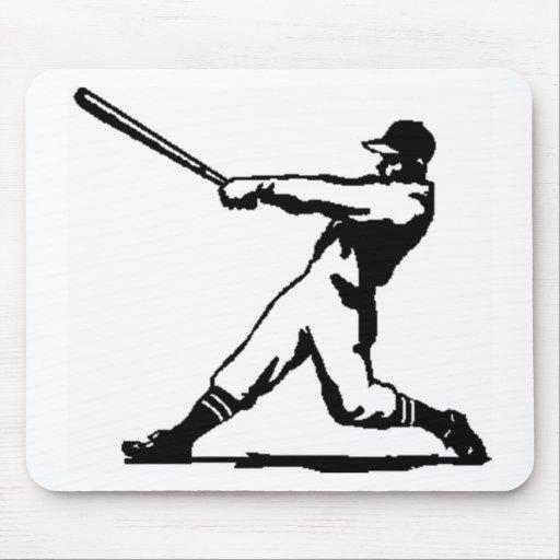 Baseball hitting mousepad
