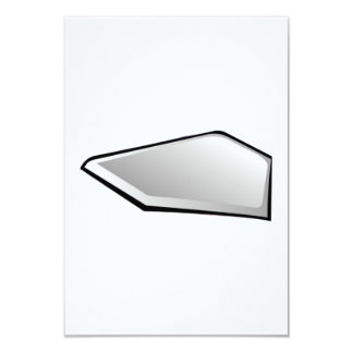 Baseball Home Plate Card