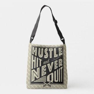 Baseball Hustle Hit Never Quit Bag