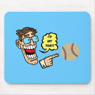 Baseball I'd hit that Mouse Pad