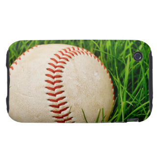 Baseball in the Grass Tough iPhone 3 Covers