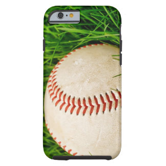 Baseball in the Grass Tough iPhone 6 Case