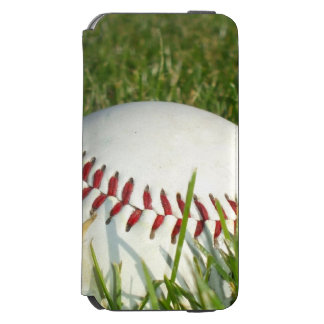 Baseball Incipio Watson™ iPhone 6 Wallet Case