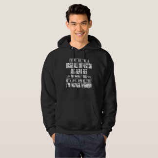 BASEBALL INSPECTOR AND REPAIRER HOODIE