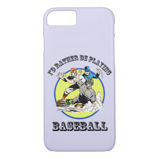 Baseball iPhone 7, Barely There Phone Case