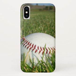Baseball iPhone X case