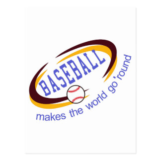 Baseball is a fun sport taking years to master.  A Postcard