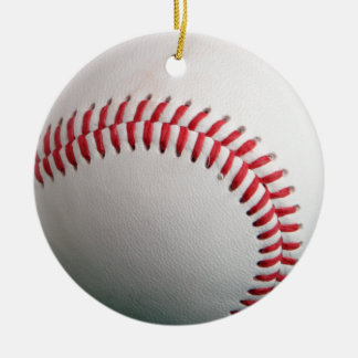 baseball is cool christmas ornament