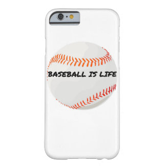Baseball is life iPhone case