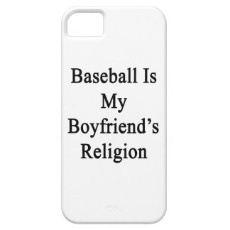 Baseball Is My Boyfriend's Religion iPhone 5 Cover