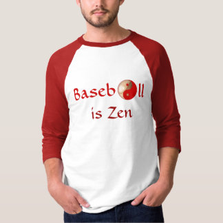 """Baseball is Zen"" men's shirt"
