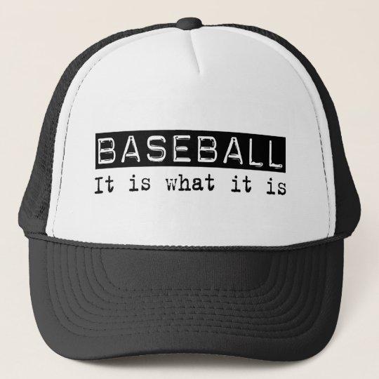 Baseball It Is Cap