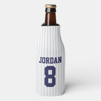 Baseball Jersey - Sports Theme Birthday Party Bottle Cooler