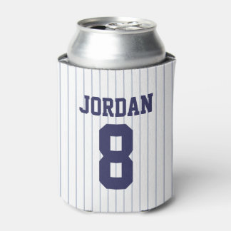 Baseball Jersey - Sports Theme Birthday Party Can Cooler