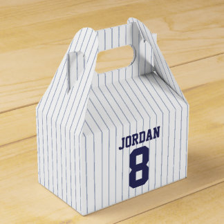 Baseball Jersey - Sports Theme Birthday Party Party Favour Box