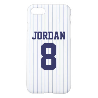 Baseball Jersey with Number iPhone 7 Case