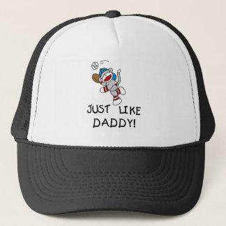 Baseball Just Like Daddy Trucker Hat