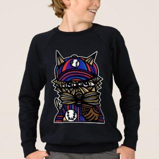 """Baseball Kat"" Boy's American Apparel Sweatshirt"