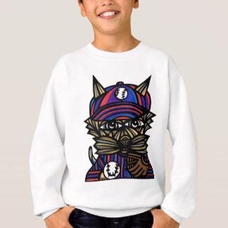 """Baseball Kat"" Kids' Hanes Sweatshirt"
