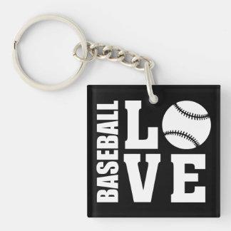 Baseball Key Ring