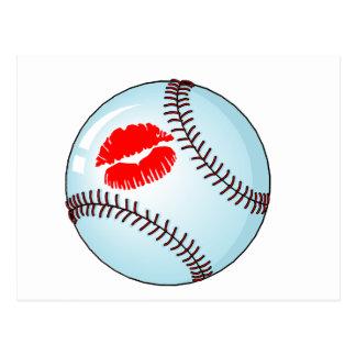 Baseball (Kiss) Postcard