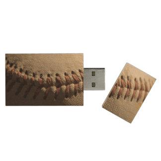 Baseball Lace usb flash drive Wood USB 2.0 Flash Drive