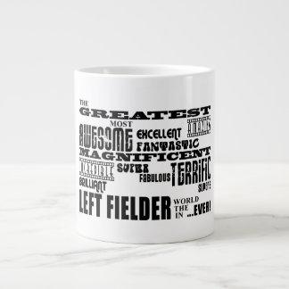 Baseball Left Fielders Greatest Left Fielder Jumbo Mug