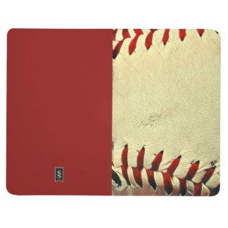 baseball lined journal