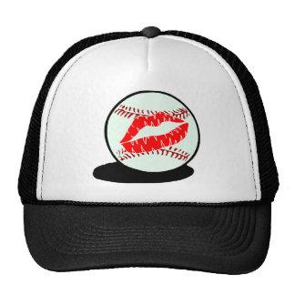 Baseball Lips Trucker Hat