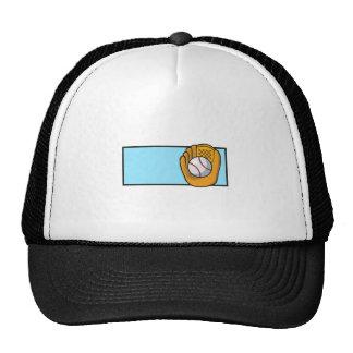 Baseball Logo Mesh Hats