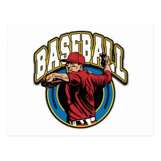 Baseball Logo Post Cards
