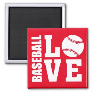 Baseball Love Magnet