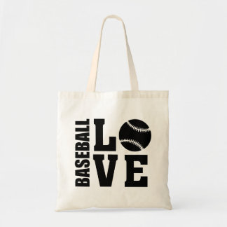 Baseball Love Tote Bag