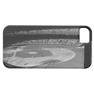 Baseball match on stadium iPhone 5 cases