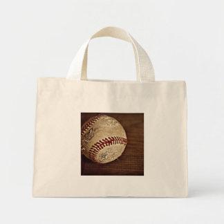 baseball mini tote bag