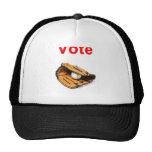 Baseball mitt romney 2012 mesh hat