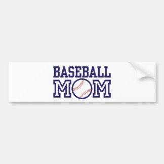 Baseball Mom Bumper Sticker