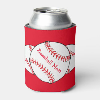 Baseball Mom Can Cooler