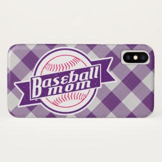 Baseball Mom Cell Phone Case