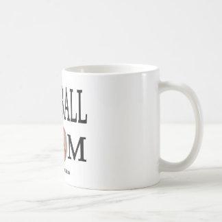 Baseball Mom Classic White Coffee Mug