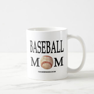 Baseball Mom Coffee Mugs