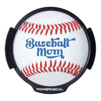 Baseball Mom Gift Idea LED Light Up Decal LED Window Decal