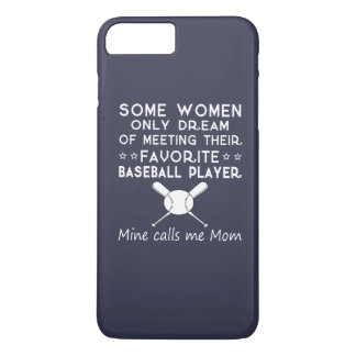 BASEBALL MOM iPhone 8 PLUS/7 PLUS CASE