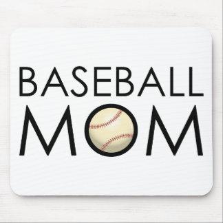 Baseball Mom Mouse Pad