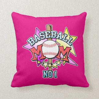 Baseball Mom Pink Cushion