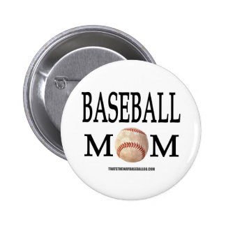 Baseball Mom Pins