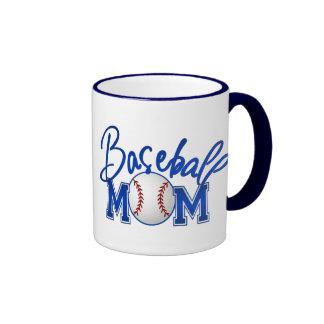 Baseball Mom Ringer Mug