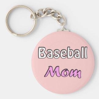 Baseball Mom Sleutel Hanger